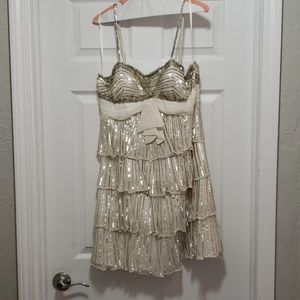 Champagne Party Dress